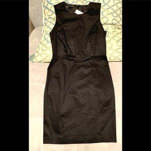NWT Classic Office Black MIDI Dress. Size 10